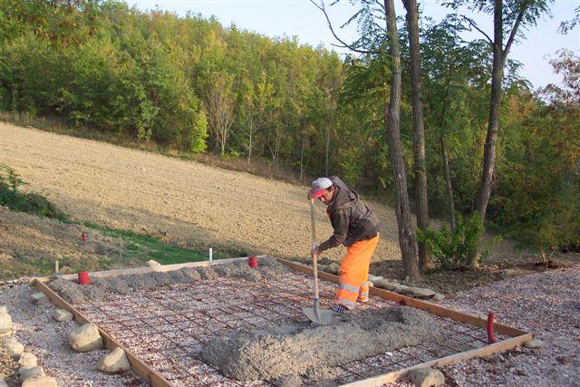 Als het beton gestort is heeft het 30 dagen nodig om volledig te ...
