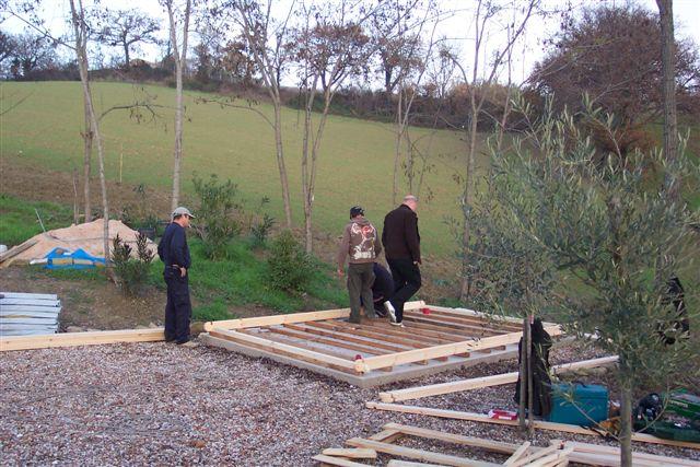 Tuinhuis bouwen : Blokhutwereld